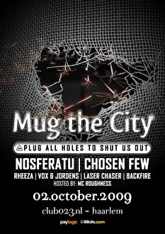 Mug the City (flyer)
