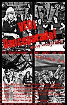 VEDJ Dance Parade (flyer)