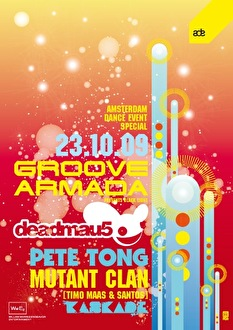 Groove Armada & Guests (flyer)