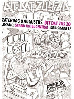 Dit Dat Zus Zo Dance Parade After (flyer)