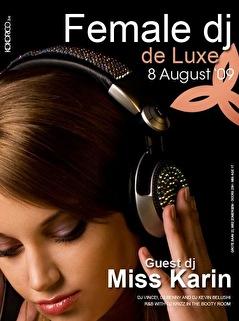 Female DJ Deluxe (flyer)