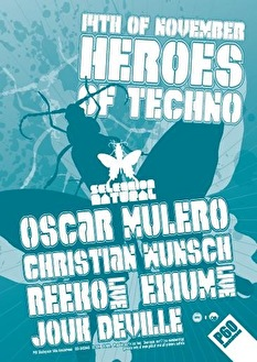 Heroes of Techno (flyer)