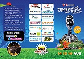 Dommelsch Zomeravond Feesten (flyer)