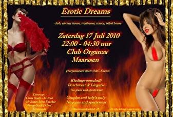 Erotic dreams (flyer)