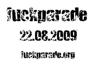 Fuckparade 2009 (flyer)
