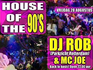 House to the 90's! (flyer)