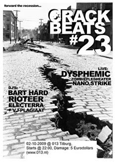 Crack Beats #23 (flyer)