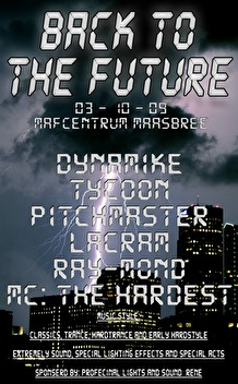 Back To The Future (flyer)