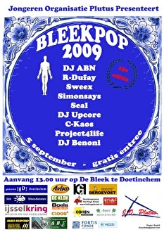 Bleekpop 2009 (flyer)