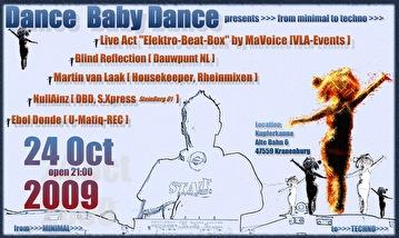 Dance Baby Dance (flyer)
