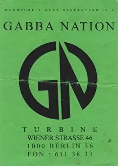 Gabba Nation (flyer)
