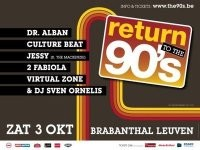 Return To The 90's (flyer)