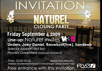 Naturel Closing Party (flyer)
