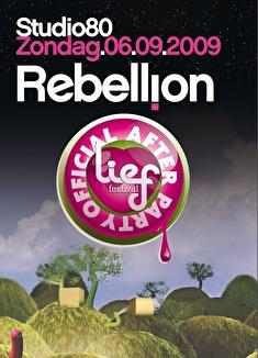 Rebellion & Lief Festival After (flyer)
