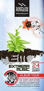Extrema Music Album Tour (flyer)