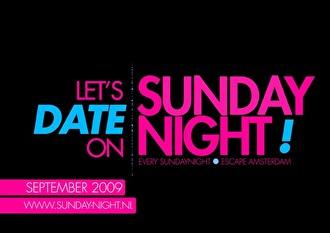 Sunday Night (flyer)