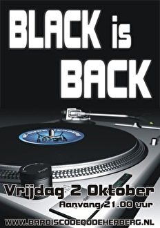 Black is Back (flyer)