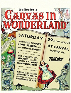 Canvas in wonderland (flyer)
