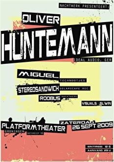 Oliver Huntemann (flyer)