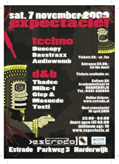 Expectacle! (flyer)