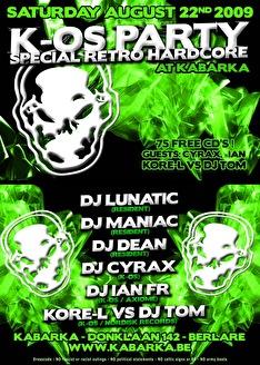 K-os party (flyer)