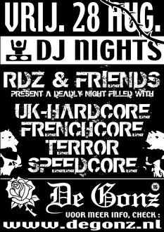 RDZ & Friends (flyer)
