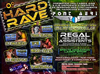 Hard Rave (flyer)