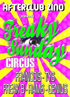 Freaky Sunday Circus (flyer)