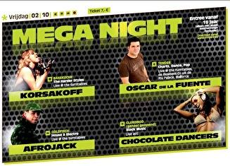 Mega Night (flyer)