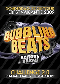 Bubbling Beats (flyer)