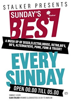 Sunday's Best (flyer)