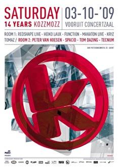 14 years Kozzmozz (flyer)