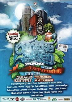 Rokkesteen 2009 (flyer)