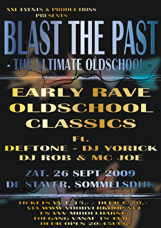 Blast the Past (flyer)