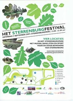 Sterrenburgfestival (flyer)