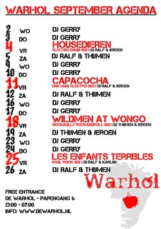 Housedieren (flyer)