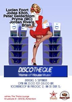 DiscotheQue (flyer)