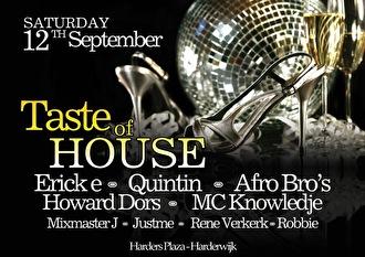 Taste of House (flyer)