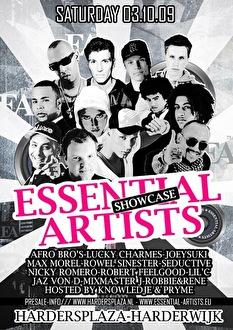 Essential Artist Showcase (flyer)