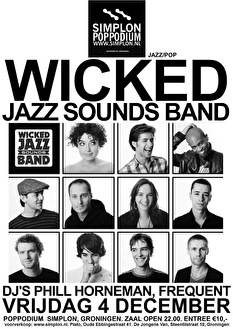 Wicked Jazz Sounds (flyer)