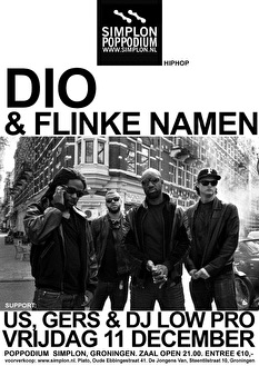 Dio & Flinke Namen (flyer)