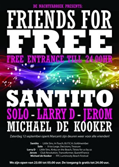 Friends For Free (flyer)