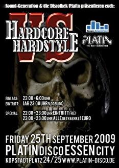 Hardcore vs Hardstyle (flyer)