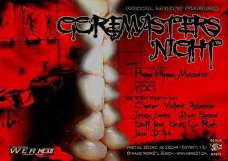 Goremasters Night (flyer)