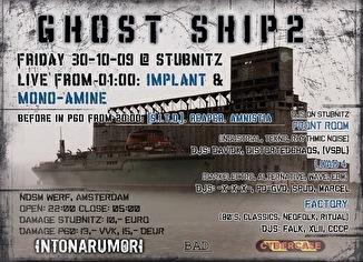 Ghost Ship II (flyer)