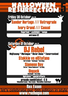 Halloween Resurrection (flyer)
