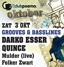 Grooves & Basslines (flyer)