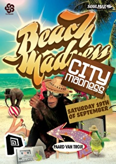 Beach vs City Madness (flyer)