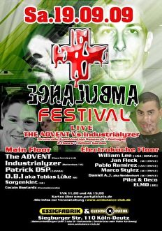Ambulance Festival (flyer)