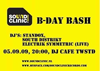 Sound Clinic (flyer)